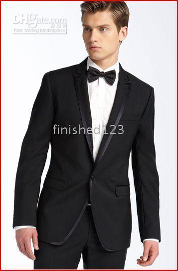 Best Men Black Suit Bow Tie to Buy | Buy New Men Black Suit Bow Tie