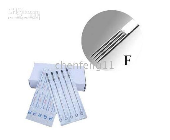 Tattoo Needles, Grips & Tips Tattoos & Body Art 9f Tattoo Machine Needles Disposable Sterile Box Of 50 Size 9 Flat Shader