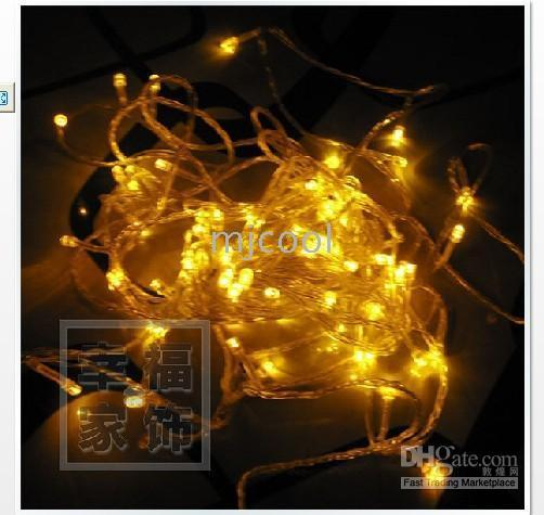 Hot Sale Top Fashion Fairy Lights Wedding Decoration 220v 10m 100 Led Lights Wholesale Flash Light Christmas Party Fairy Wedding W08