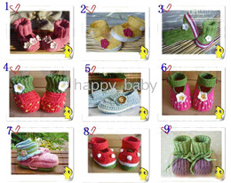 Wholesale Handmade Shoes For Baby Girls - 100% HANDMADE baby Crochet shoes boots booties,crocheted prewalkers for infants toddlers,with styles,girl boy crochet shoes boots,custom