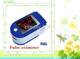Wholesale Cms Pulse Oximeter - 5 pcs A lot Fast shipping Finger Pulse Oximeter Blood Oxygen Monitor CMS-50DL