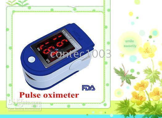 kullanılmış nabız oksimetresi toptan satış-5 adet Çok hızlı sevkiyat Parmak Nabız oksimetresi Kan Oksijen Monitörü CMS-50DL