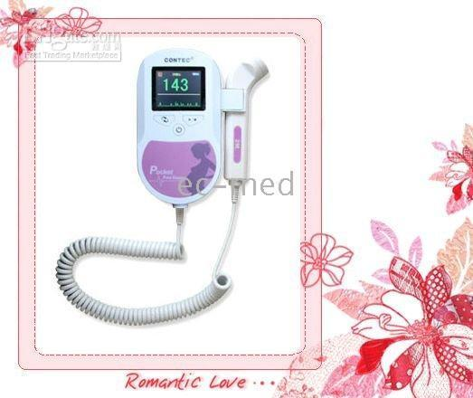 Wholesale Probe Mhz - 5 pcs Fetal Doppler-Fetal Heart Rate-LCD Screen(sonoline C) -with 3 Mhz probe