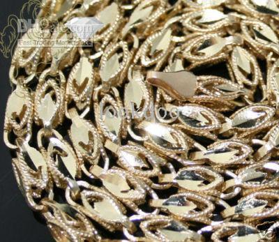 2017 mens 10k yellow gold turkish rope chain necklace 26in
