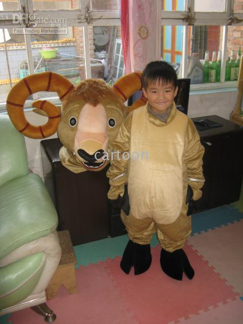 Christmas Ram Antelope Mascot Costume Child Size Elmo Costumes Child Costumes From Cartoon $182.92| Dhgate.Com  sc 1 st  DHgate.com & Christmas Ram Antelope Mascot Costume Child Size Elmo Costumes Child ...