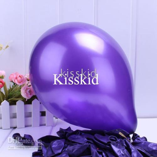 Balloons purple