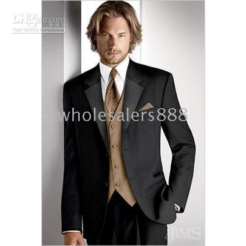 designer tuxedo vests 2019 - Men Complete Designer Bridegroom Wedding Prom Suits Groom Tuxedos (jacket+pants+tie+vest) C121Q discount designer tuxedo