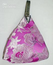 Wholesale Cheap Flowers China - China Evening Bag Color Bag Women Bag Cheap Fashion Silk Flower Triangle Bags 1pcs Free