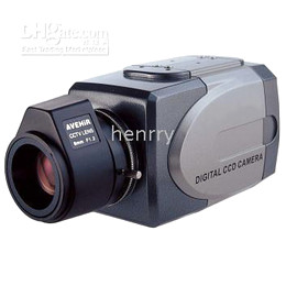 Wholesale Ii Security - Free DHL or EMS 4pcs Security CCTV Color 1 3 Sony II Super HAD CCD 520TVL Box CCD camera SF-205AH