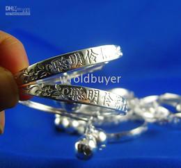 Wholesale Cheap Sterling Silver Bracelets - Wholesale cheap 10pcs 925 sterling silver kid baby Jewelry bangle bracelets