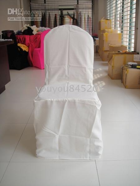 Groovy Moq White Color Round Top 100 Polyester Banquet Chair Cover For Wedding Party Hotel Use Wingback Chair Cover Designer Chair Covers From Youyou845201 Creativecarmelina Interior Chair Design Creativecarmelinacom