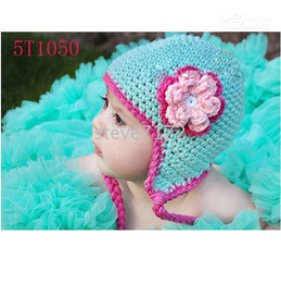 Wholesale Wholesale Baby Beret - Children's hats baby Caps knitting hat crochet hat hoodies headgear dicers girls beanie berets CL841