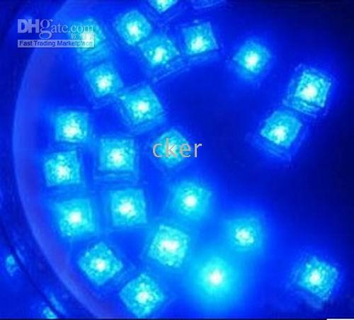 Ultimo prezzo basso Blue Ice Cubes LED per Partyamp; Weddingamp; Natale 50pcs / lotto