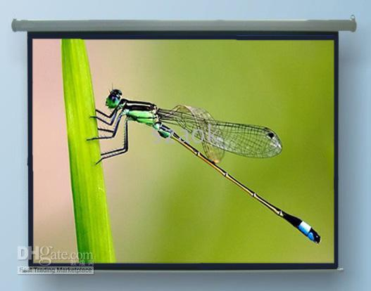 Wholesale 100 inch Electric remote control screen HD Projector screen