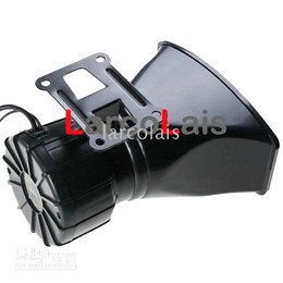 Sirene de alarme de carro sem fio on-line-12 V Carro Moto Remoto Sem Fio Chifre Alto Alarme Aviso Sirene Chifre 300dB 4 Tom