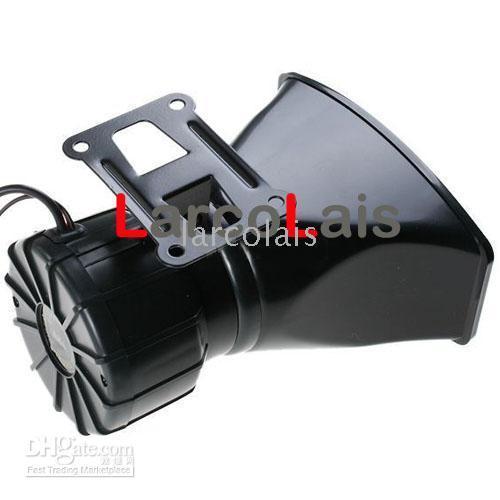 sirena de alarma remota al por mayor-Motocicleta del coche de 12V Alarma de alarma del cuerno de la alarma de la alarma del cuerno fuerte inalámbrico Sirena de la bocina del altavoz 300dB de 4 tonos