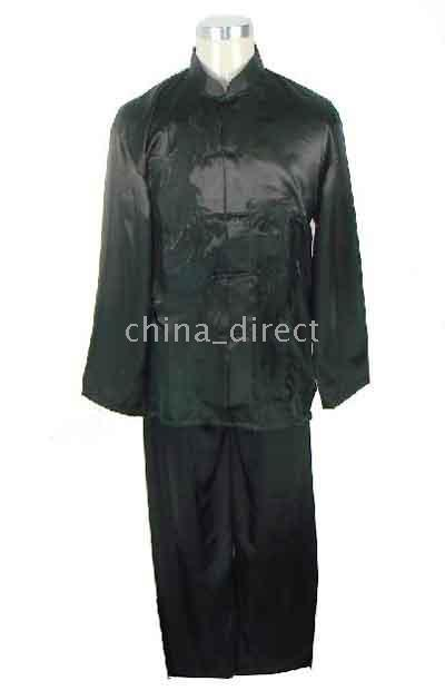 Discount martial arts uniforms - New Kungfu suits Martial Art sets Chinese ,Tai Suit,Rayon silk uniform Tops Pants 6sets lot