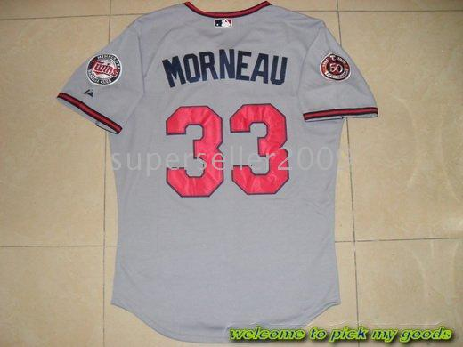 2018 Mlb Minnesota Twins 2010 Authentic #33 Justin Morneau W/50th Season  Patch Gray Jersey+Sz 48 56 From Superseller2009, $21.29 | Dhgate.Com