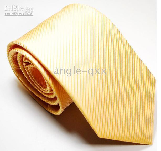 new styles Mens Ties Necktie tie Neck TIE yellow ties factory's tie men's ties 12 COLORS 100/lot