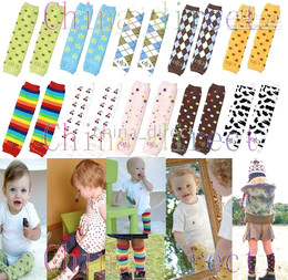 Calças Leggings bebê Pernas aquecedor Crianças Criança Braço mais quente 120 pares / lote de