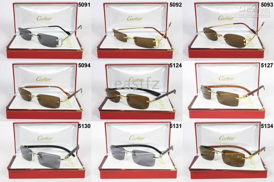 c3978c0bb0 Wholesale AAA Cartier New Men s Sunglasses Glasses To Around The World  Eastfz Vintage Sunglasses Super Sunglasses From Eastfz