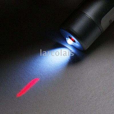 20 -Pack Laser Pointer portachiavi con 1 torcia LED LQFL1713