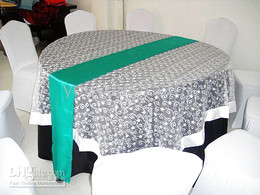 Wholesale Turquoise Green Fabric - 100pcs a lot turquoise green satin table runner with free shipping for wedding use 50pcs a lot