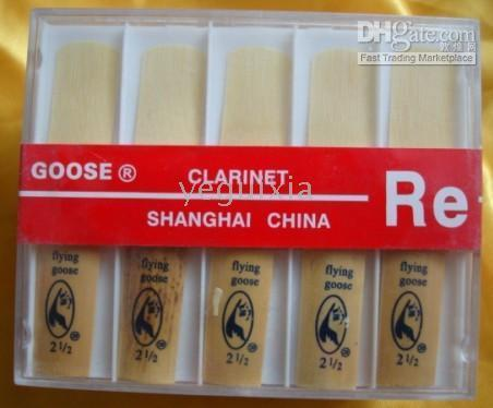Wholesale Clarinet For Wholesale - Made in China Fine Clarinet reeds 2 1 2 G New Box 10 pcs #2.5 reed