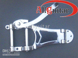 Wholesale Electric Guitars Bigsby - Guitar chrome bigsby Vibratone tremolo with Hollow JAZZ electric guitar