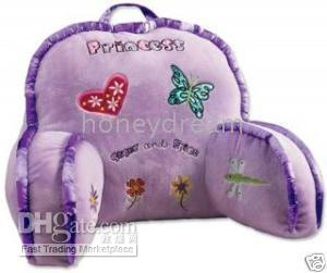 princess bed rest lounge pillow new kids princess bed rest backrest lounge pillow - Bed Rest Pillow With Arms