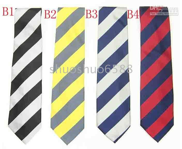Wholesale Order Neckties - hot sell striped tie silk tie ties many men necktie tie ties mix order