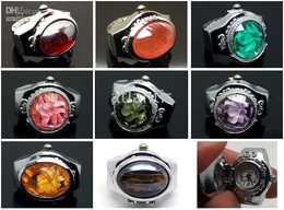Wholesale Mixed Colour Watches - new brand mixed design &colour jewellery ring watch 55pcs in stock