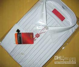 Wholesale Wholesale Business Shirts - French Cuff Dress Shirt Men's dress Shirts,Business shirts Dress shirt Chinese brand 10pcs lot #1707