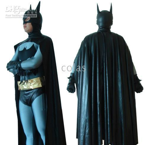 2018 Full Body Lycra Spandex Zentai Batman Costume With Cap Suit C042 From Colas $40.23 | Dhgate.Com  sc 1 st  DHgate.com & 2018 Full Body Lycra Spandex Zentai Batman Costume With Cap Suit ...