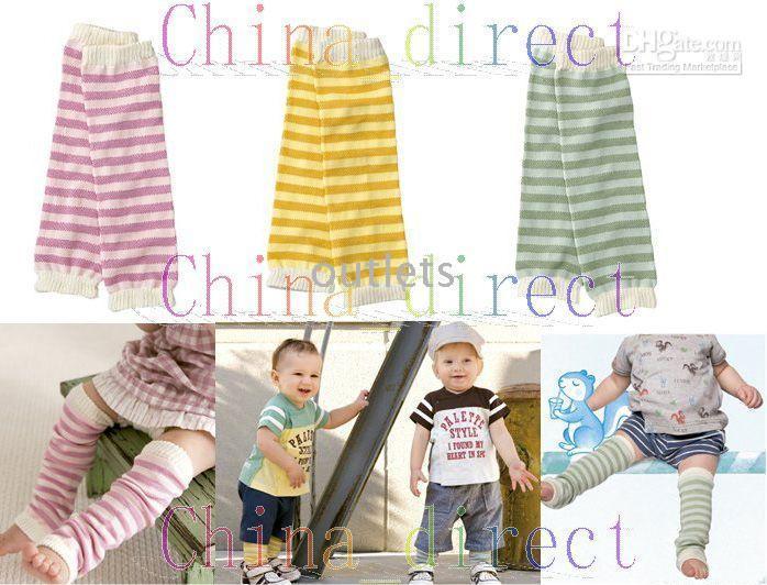 ingrosso baby warmers del braccio-Scaldamuscoli Leggings pantaloni Toddler Kids Scaldabraccia 120 paia / lotto nuovo
