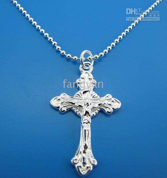 2015 Sale New Pendant Necklaces Ruby Jewelry Gemstone Jewelry Pendant Colares 5 Pcs 925 Silver Fashion Cross Pendant Necklace 18 Inch .