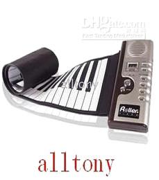 Wholesale Piano 61 - 61 Key Piano Roll Up Synthesizer and Piano Roll Up Synthesizer Piano with Responsive Keys