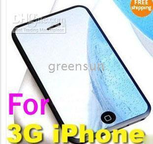 120pcs 3G 3GS Milrror Screen Protector Film Cover für 3G-iPhone 3gs greensun