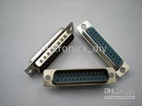 D- sub Solder 25 Pin Connector Socket with Various Specificat...