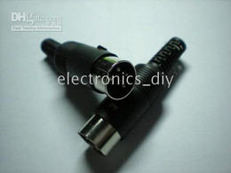 Wholesale Din Pins - 100 pcs per Lot DIN Plug Connector 3 Pin 4 Pin 5 Pin with Plastic Handle Hot Sale