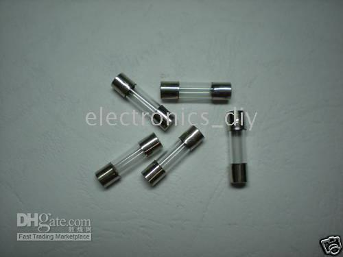 best selling Glass Fuse 250V 5mm x 20mm Fast Blow 1A 2A 3A 4A 5A for Choice 500 pcs per Lot