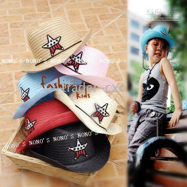 Children s Caps Cowboy Hat Hats Baby Cap Sun Helmet Kids  Hat Boys  Caps  Girls  Hat ZY08 Online with  145.36 Piece on Trader-cxc s Store  119c567e5ea4