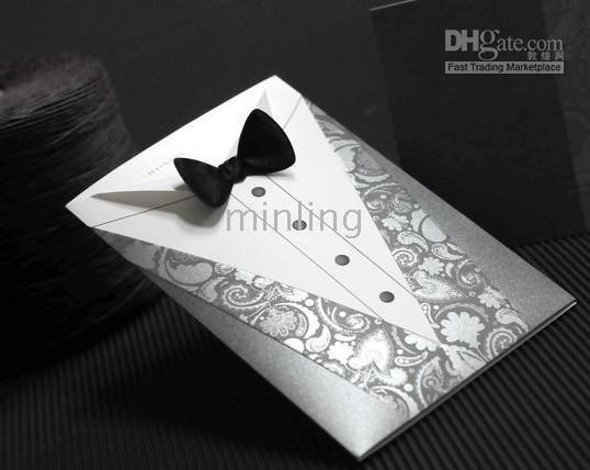 Groom Design Wedding Invitation CardsWedding FavorsYm13002 – Latest Wedding Invitation Cards Designs