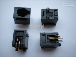 Modüler PCB Jack Telefon Net LAN Konektörü RJ11 5222 4P4C 6P6C ve RJ45 8P8C Lot başına 500 adet nereden ip güvenlik kameraları tedarikçiler