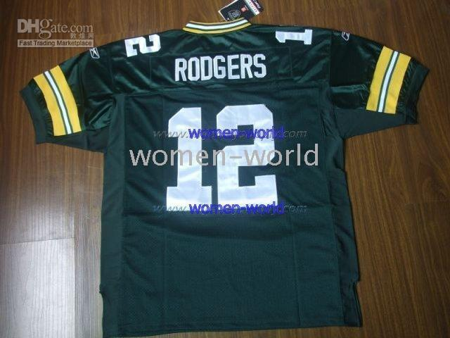 low priced 7793e 18757 High Quality NFL Reebok Jersey Green Bay Packers #12 Aaron Rodgers Green  nfl football team jerseys
