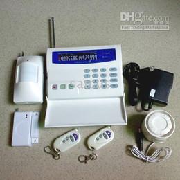 Alarme gsm intelligente en Ligne-Intelligent Intrude Home / Sécurité résidentielle, Système d'alarmes GSM avec écran LCD, Système d'alarmes SMS SG-222