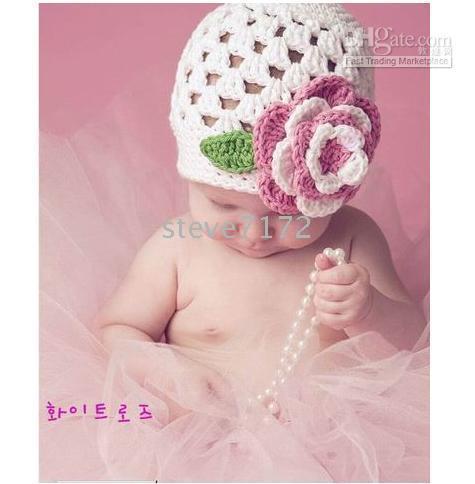 Großhandel Kinder Caps Stricken Hut Mütze Hut Baby Häkeln Hüte Kappe