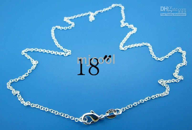 Wholesale chain silver necklace chain size mm quot chain