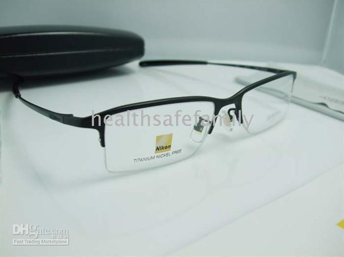 84bd2c38ec82 Free Home Delivery Japan NIKON 8906 Nikon AV8906T 8880T Titanium Glasses  Frame To Support Counter I Optical Frames Online Police Glasses Frames From  ...