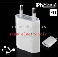 100Pcs Lot USB Wall Charger EU US Plus AC Adapter for iPhone...